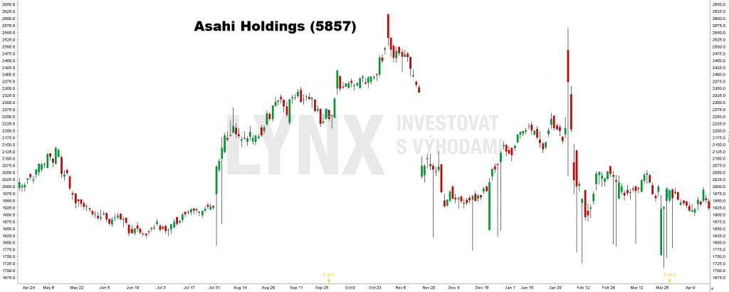 Asahi Holdings (5857) - investice do platiny