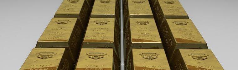 obchodování s komoditami - zlato
