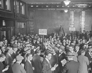 Obchodování s komoditami - historie