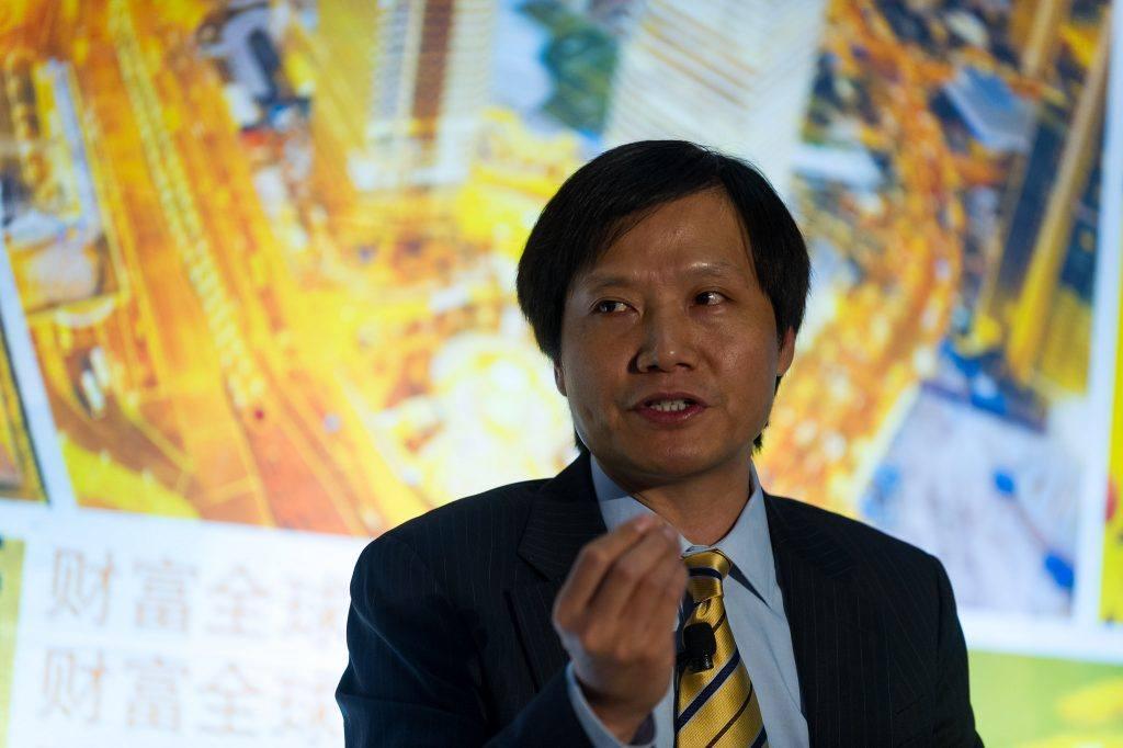 Lei Jun - generální ředitel společnosti Xiaomi