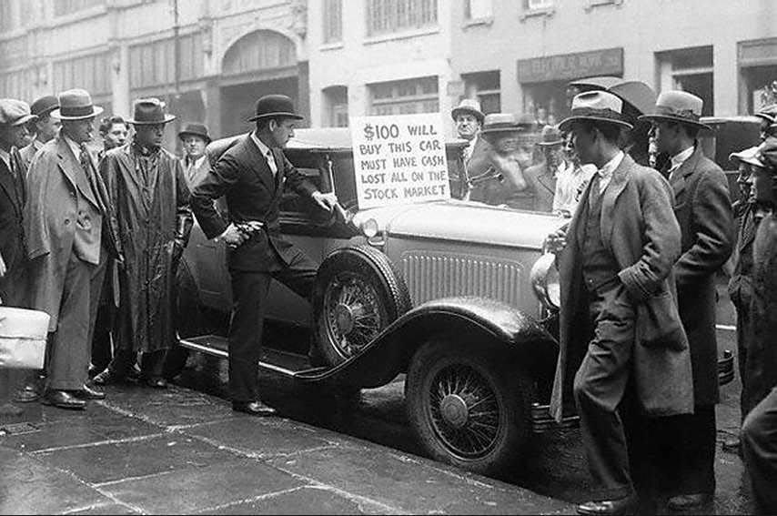 Pád burzy v roce 1929