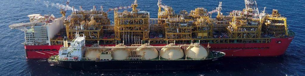 Prelude a LNG tanker