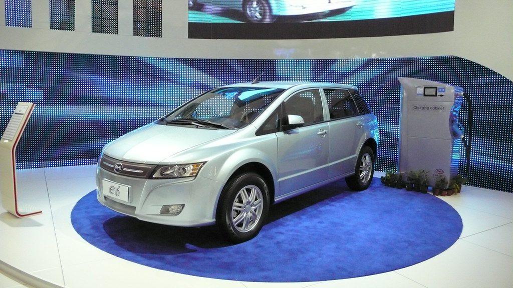 Elektromobil společnosti BYD