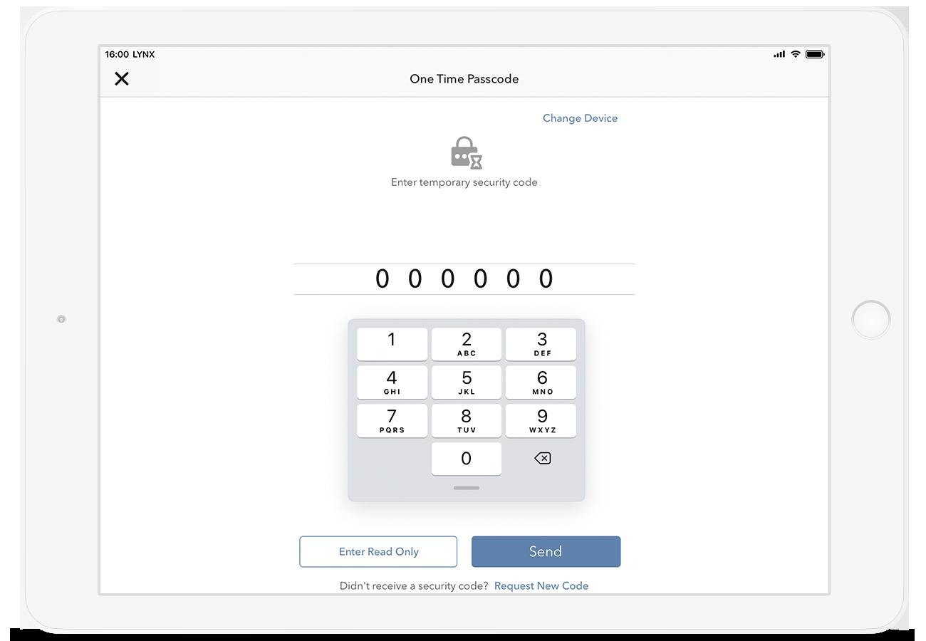 Zabezpečené přihlášení do aplikace LYNX Trading pro bezpečné obchodování na burze