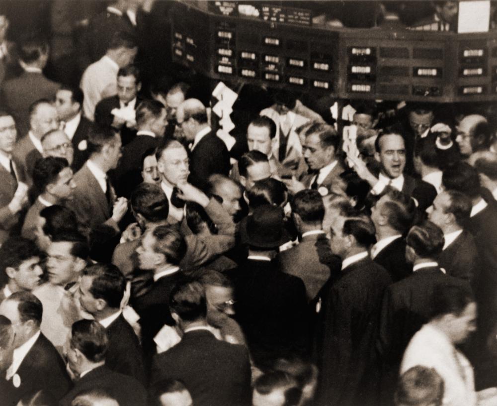 Černý pátek -Wall Street