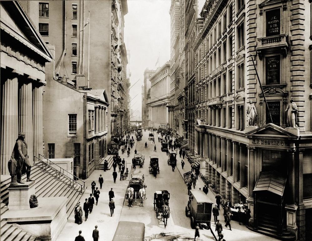 Historie Wall Street