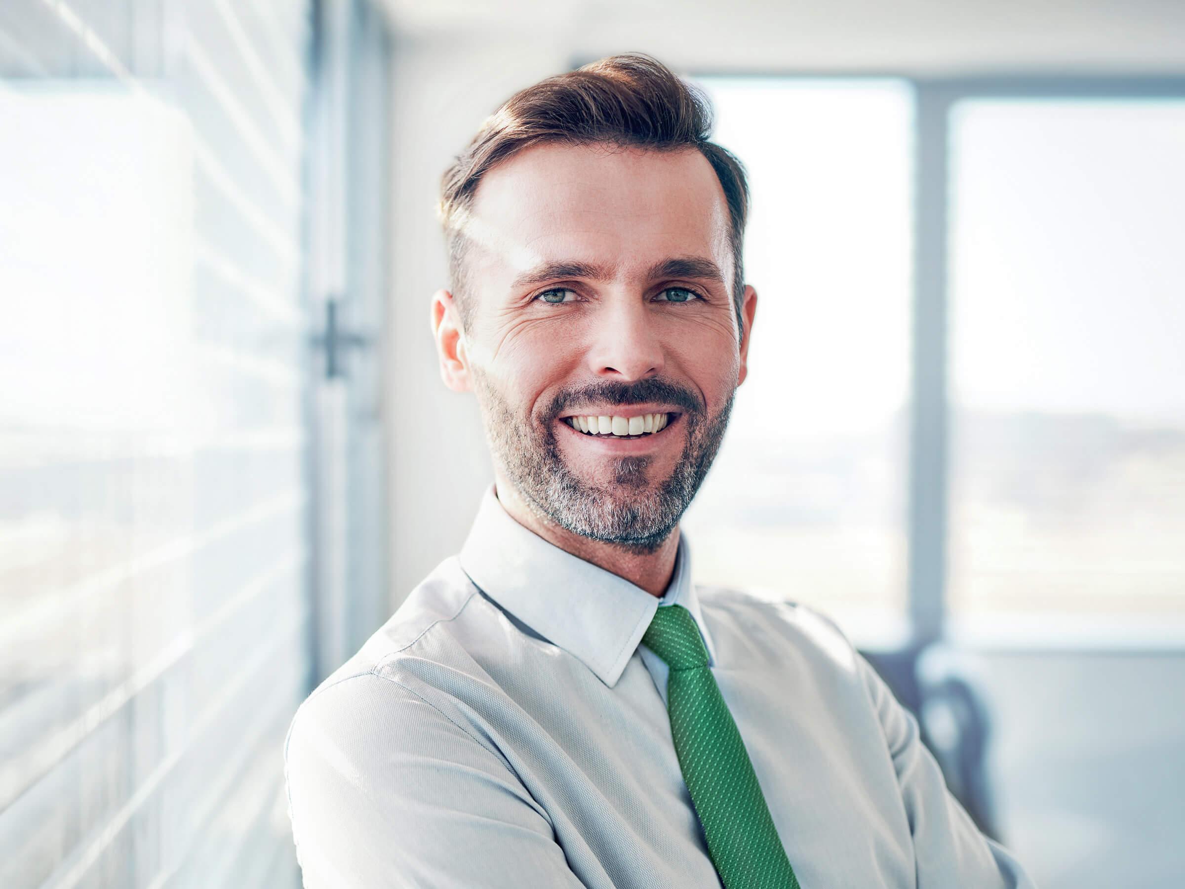 Spokojený klient LYNX po rychlém otevření firemního účtu