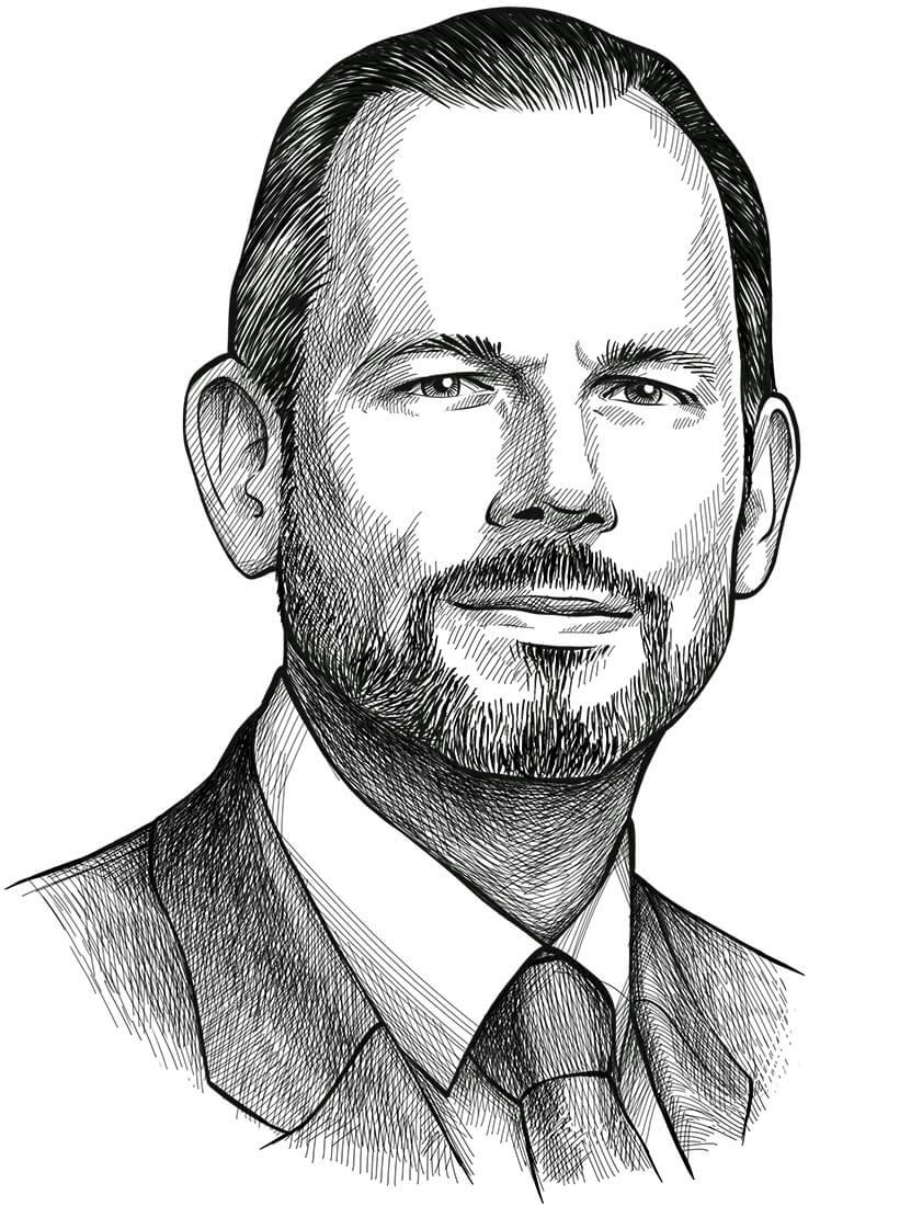 Perokresba investičního guru a autora F-Score strategie Josepha Piotroskiho