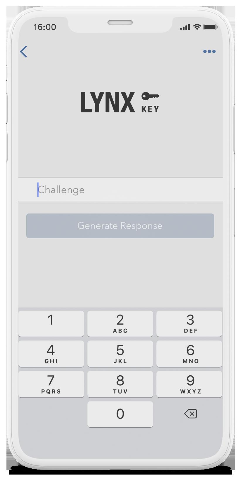 Mobilní telefon s aplikací LYNX Trading a zabezpečenou šifrovací SSL technologií