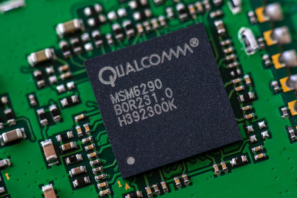 Detail čipu Qualcomm