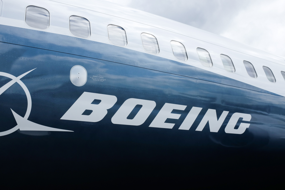 Detail letadla Boeing