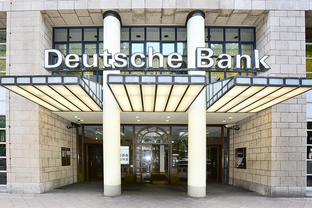 vstup do banky Deutsche Bank