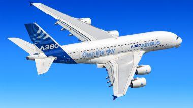 Letoun A 380 společnosti Airbus