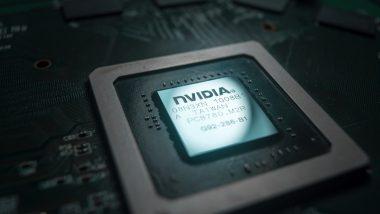 Detail čipu Nvidia